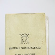 Monedas FNMT: 1ª CARTERITA DE JUAN CARLOS I 1975 *76 - 6 MONEDAS SERIE COMPLETA - CONSERVACIÓN SC. Lote 131233456