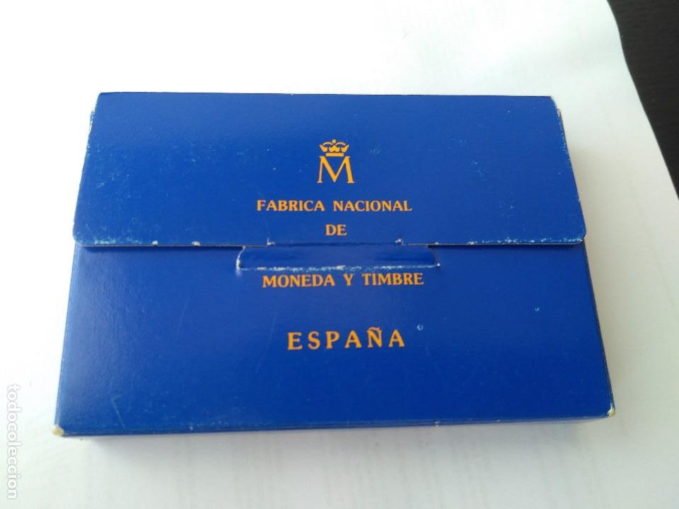 Monedas FNMT: MONEDA DE PLATA 5 ECU F.N.M.T 1989 - Foto 8 - 132816594