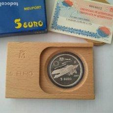 Monedas FNMT: MONEDA DE PLATA 5 EURO-NIEUPORT 1997 F.N.M.T. Lote 132817626