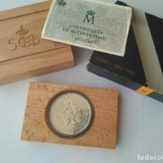 Monedas FNMT: MONEDA DE PLATA 5000 PESETAS AÑO 1990 II SERIE. Lote 132818870
