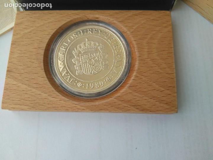 Monedas FNMT: MONEDA DE PLATA 5000 PESETAS 1989 SERIE I F.N.M.T - Foto 2 - 132822702