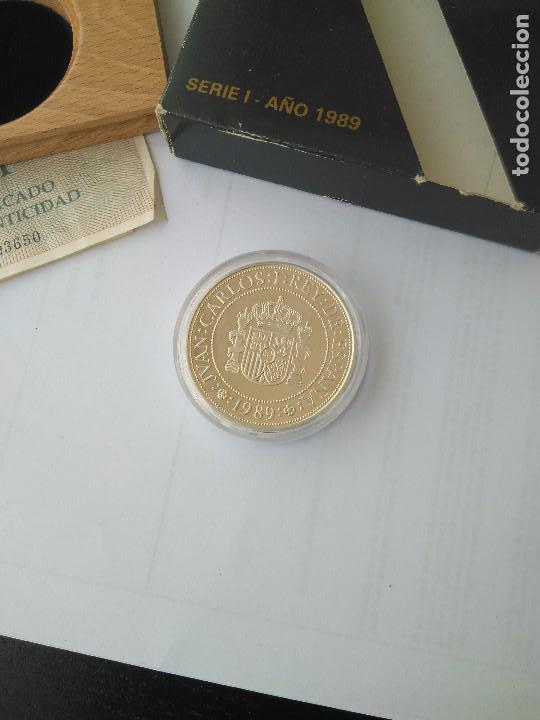Monedas FNMT: MONEDA DE PLATA 5000 PESETAS 1989 SERIE I F.N.M.T - Foto 5 - 132822702