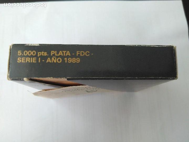 Monedas FNMT: MONEDA DE PLATA 5000 PESETAS 1989 SERIE I F.N.M.T - Foto 8 - 132822702
