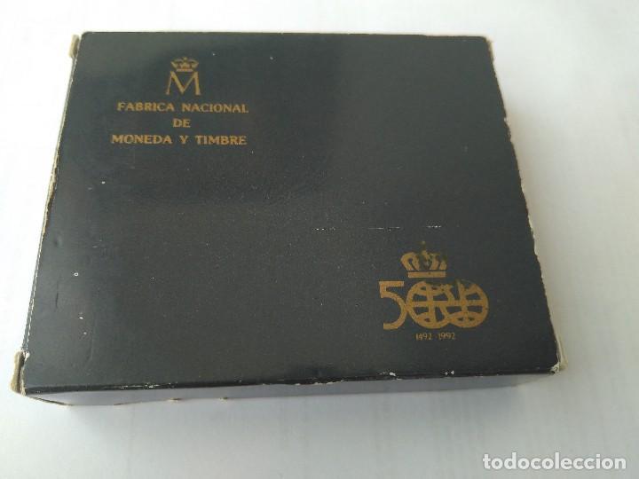 Monedas FNMT: MONEDA DE PLATA 5000 PESETAS 1989 SERIE I F.N.M.T - Foto 9 - 132822702
