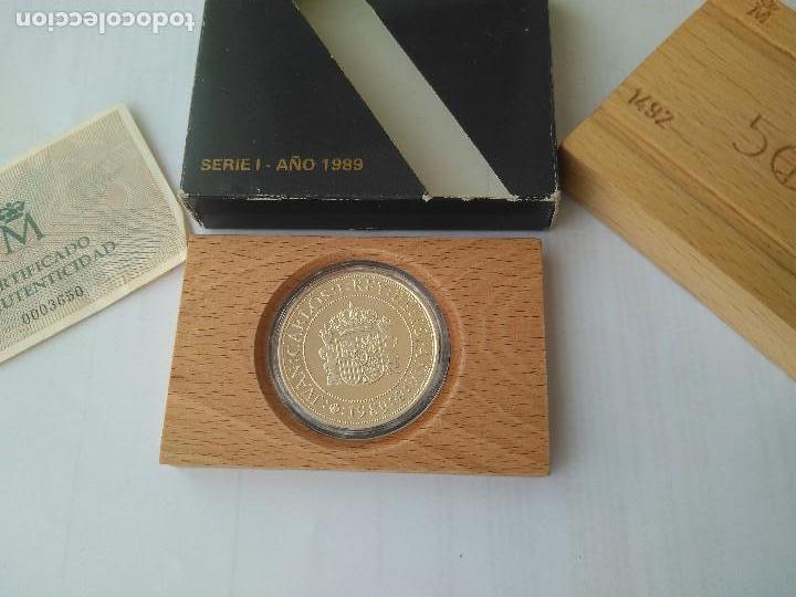 MONEDA DE PLATA 5000 PESETAS 1989 SERIE I F.N.M.T (Numismática - España Modernas y Contemporáneas - FNMT)