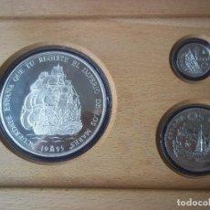 Monedas FNMT: SET NONEDAS DE PLATA ESPAÑA 1995 25 , 5 , 1 ECU. Lote 135774926