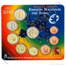 Monedas FNMT: ESPAÑA 2010 SET OFICIAL FNMT EMISION NACIONAL DEL EURO - MEZQUITA DE CORDOBA. Lote 136727322