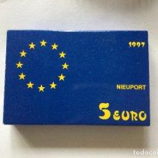 Monedas FNMT: 5 EURO 1997 NIEUPORT. Lote 138943214