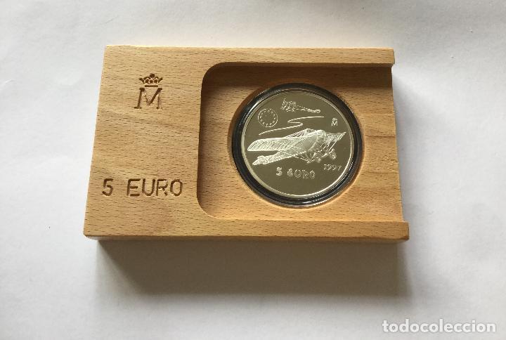 Monedas FNMT: 5 euro 1997 nieuport - Foto 7 - 138943214
