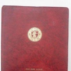 Monedas FNMT: ALBUM F.A.O. CON 36 MONEDAS CONMEMORATIVAS. EMISIÓN OFICIAL 1968-1971. EN 27 SERIES DE OTROS........ Lote 139459670
