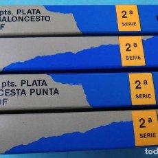 Monedas FNMT: COLECCION 4 MONEDAS PLATA, 2000 PESETAS PROOF , OLIMPIADA BARCELONA 92 , 2ª SERIE, COMPLETA. Lote 139560802