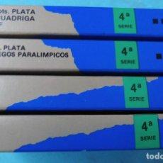 Monedas FNMT: COLECCION 4 MONEDAS PLATA, 2000 PESETAS PROOF , OLIMPIADA BARCELONA 92 , 4ª SERIE, COMPLETA . Lote 139561110