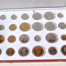 Monedas FNMT: HISTORIA DE LA PESETA - EMISION ESPECIAL CONMEMORATIVA FNMT 24 PIEZAS PROOF PLATA Y ORO. Lote 140182030