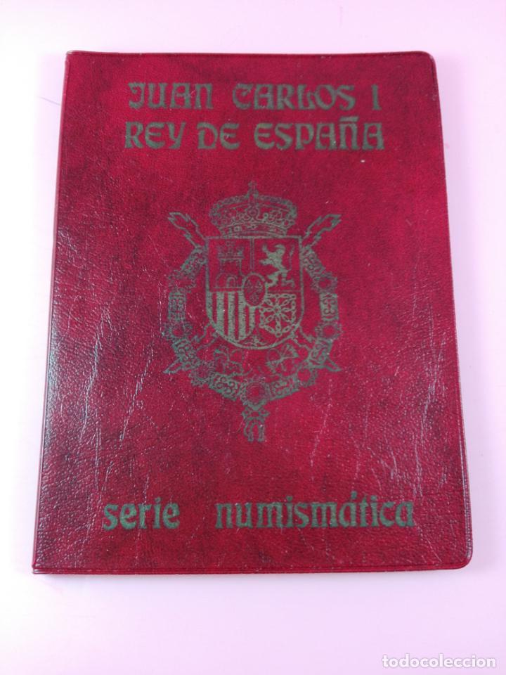 **CARTERA MONEDAS-SERIE NUMISMÁTICA-1978-JUAN CARLOS I-PERFECTO ESTADO-VER FOTOS (Numismática - España Modernas y Contemporáneas - FNMT)