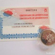 Monedas FNMT: JUAN CARLOS I * 1 EURO 1998 * LAUREADA * PLATA ** TIN. Lote 142366722