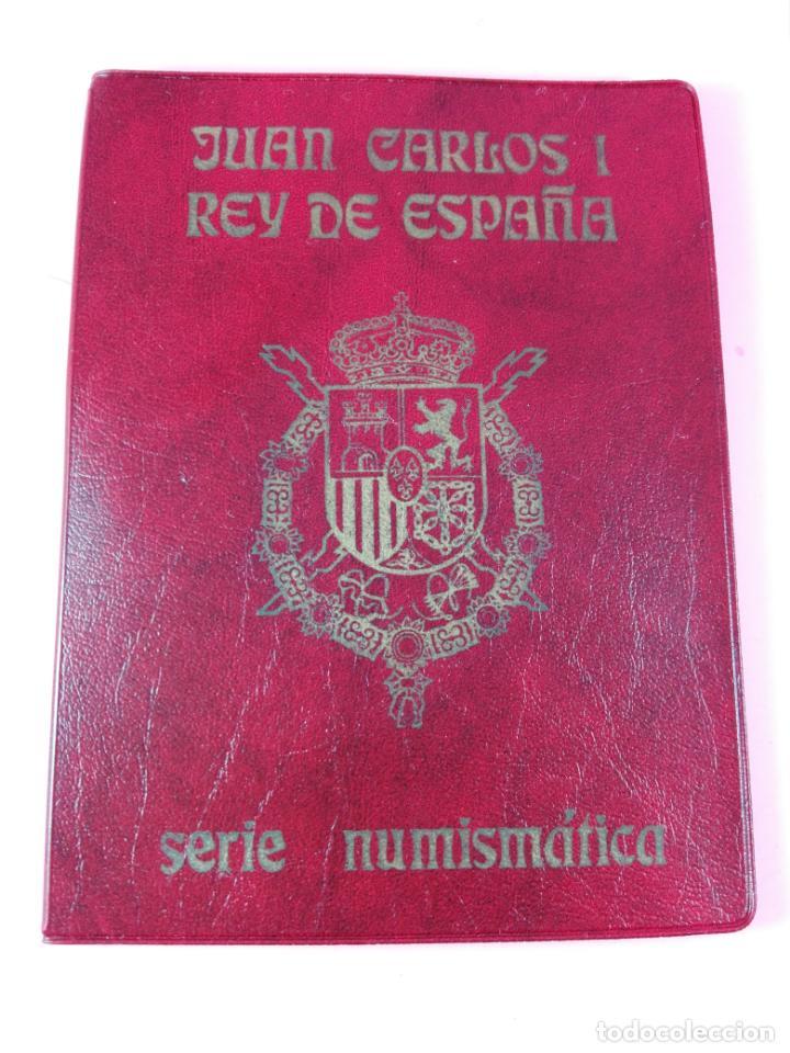 **CARTERA MONEDAS-SERIE NUMÍSMÁTICA-1975 *80-JUAN CARLOS I-ESPAÑA-BUEN ESTADO-VER FOTO (Numismática - España Modernas y Contemporáneas - FNMT)