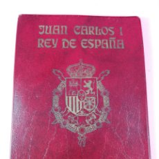 Monedas FNMT: **CARTERA MONEDAS-SERIE NUMÍSMÁTICA-1975 *80-JUAN CARLOS I-ESPAÑA-BUEN ESTADO-VER FOTO. Lote 142377394