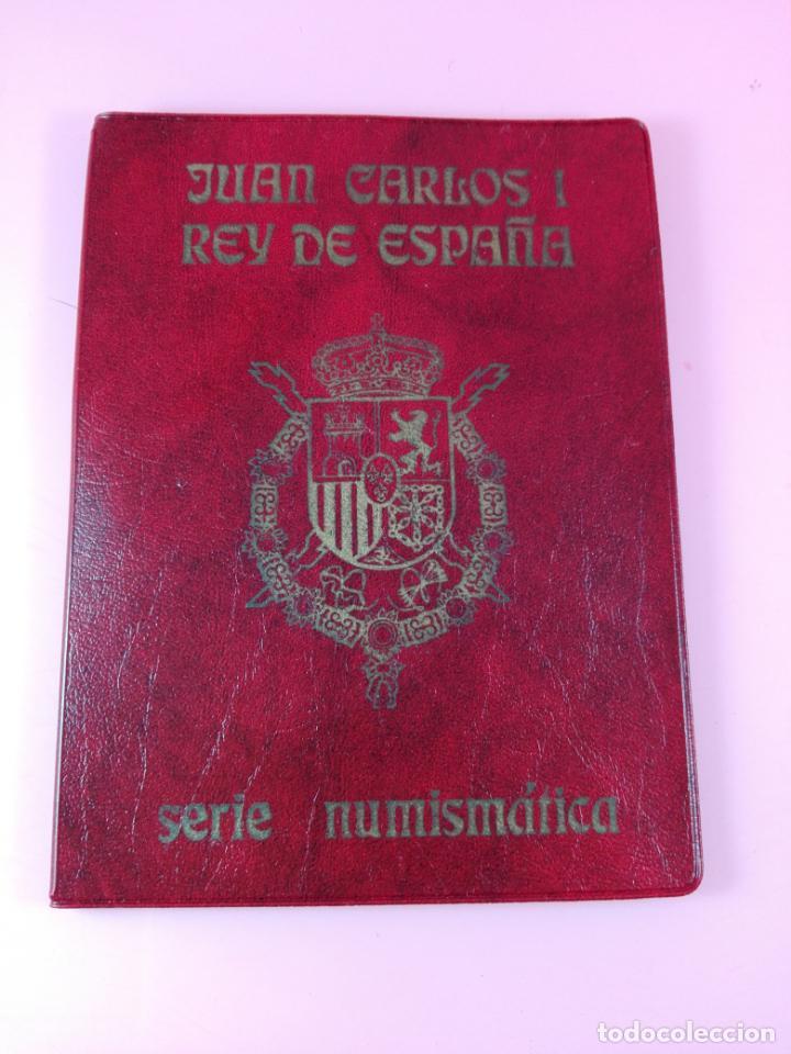 Monedas FNMT: **cartera monedas-serie numísmática-1975 *80-juan carlos I-ESPAÑA-buen estado-ver foto - Foto 2 - 142377394