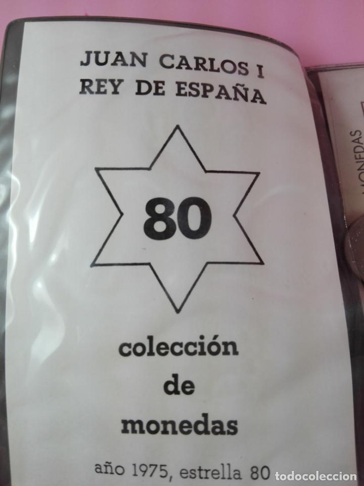 Monedas FNMT: **cartera monedas-serie numísmática-1975 *80-juan carlos I-ESPAÑA-buen estado-ver foto - Foto 3 - 142377394