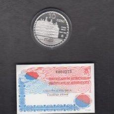 Monedas FNMT: AÑO 2002. CASA MILA. 10 EUROS PLATA.. Lote 143144986