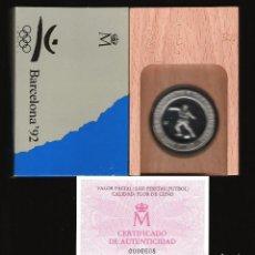 Monedas FNMT: 2000 PESETAS JUEGOS OLIMPICOS BARCELONA 92 FÚTBOL FDC. Lote 145726750