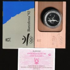 Monedas FNMT: 2000 PESETAS JUEGOS OLIMPICOS BARCELONA 92 ATLETA GRIEGO FDC. Lote 145726926