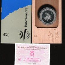 Monedas FNMT: 2000 PESETAS JUEGOS OLIMPICOS BARCELONA 92 BARCA DE TAMUSIENS FDC. Lote 145727174