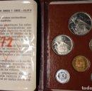 Monedas FNMT: ESPAÑA CARTERAS PRUEBAS NUMISMÁTICAS FNMT. AÑOS 72-73-74 Y 1975. FRANCO. PROOF. Lote 160755882