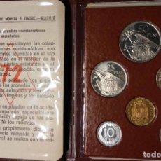 Monedas FNMT: ESPAÑA CARTERAS PRUEBAS NUMISMÁTICAS FNMT. AÑOS 72-73-74 Y 1975. FRANCO. PROOF. Lote 146572794