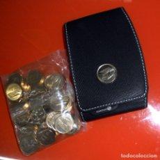 Monedas FNMT: BOLSA 50 MONEDAS FICHAS FICHA GASOLINERAS REPSOL FNMT FABRICA NACIONAL MONEDA TIMBRE 100 PTAS 2001 . Lote 147252210
