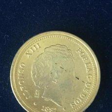 Monedas FNMT: REPRODUCCION FNMT 20 PESETAS 1892.. Lote 147685262