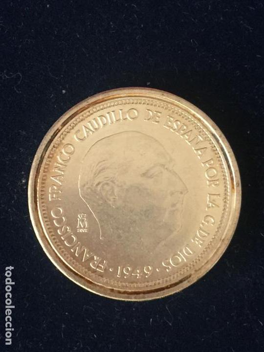 REPRODUCCION FNMT 5 PESETAS 1949. (Numismática - España Modernas y Contemporáneas - FNMT)