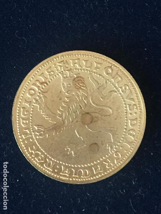 REPRODUCCION FNMT DOBLA ALFONSO. (Numismática - España Modernas y Contemporáneas - FNMT)