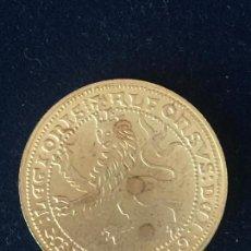 Monedas FNMT: REPRODUCCION FNMT DOBLA ALFONSO.. Lote 147698254