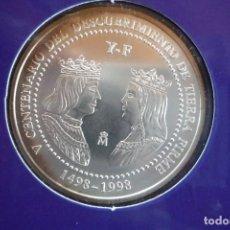 Monedas FNMT: 3 EUROS CON ESTUCHE CONMEMORATIVO DE LA 'RUTA QUETZAL 1998' EN EL 'V' CENTENARIO DEL DESCUBRIMIENTO. Lote 147937686