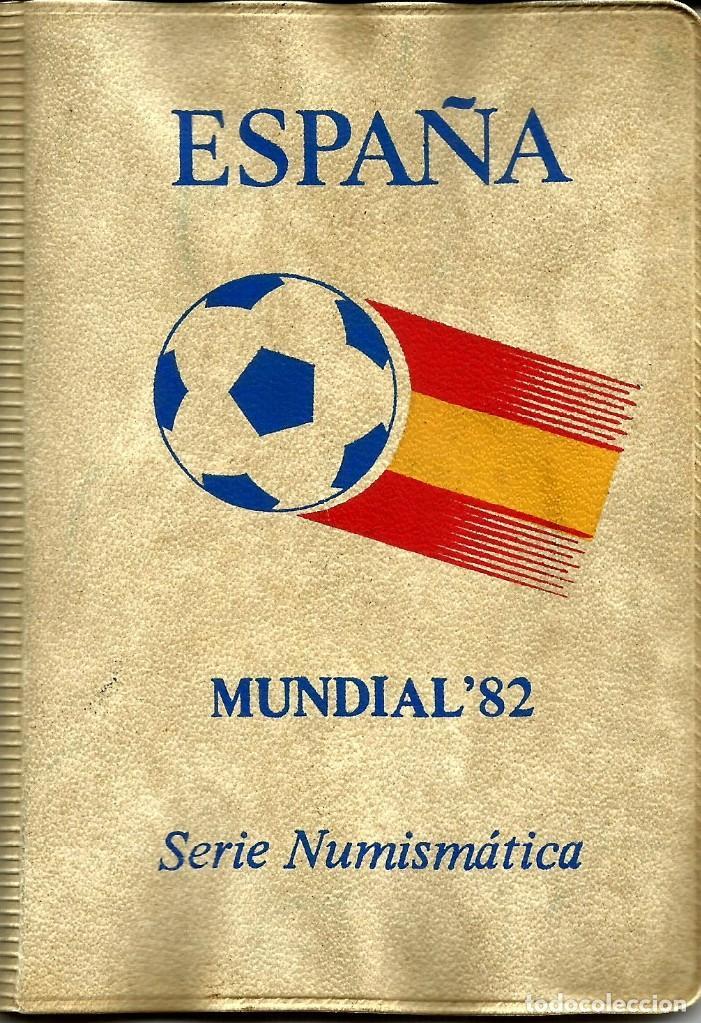 CARTERA NUMISMATICA MONEDAS DEL MUNDIAL 1982 DE FUTBOL (Numismática - España Modernas y Contemporáneas - FNMT)