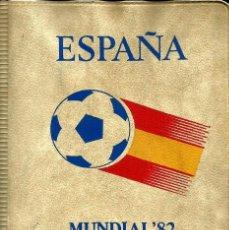 Monedas FNMT: CARTERA NUMISMATICA MONEDAS DEL MUNDIAL 1982 DE FUTBOL. Lote 151499186