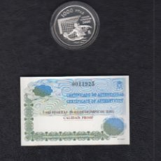 Monedas FNMT: AÑO 1999. 1000 PTAS PLATA JUEGOS OLIMPICOS. Lote 151870150
