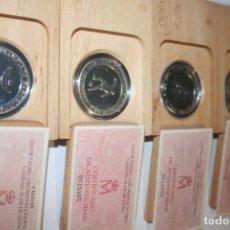 Monedas FNMT: COLECCIÓN COMPLETA MONEDAS DE PLATA JUEGOS OLÍMPICOS BARCELONA 92. Lote 152048906