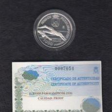 Monedas FNMT: AÑO 1996.- 1000 PTAS PLATA JUEGOS PARALIMPICOS. . Lote 152137362