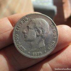 Monedas FNMT: ALFONSO XII . 5 PESETAS DE PLATA . 1879. Lote 156791424