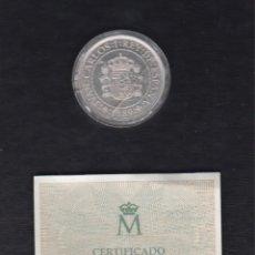 Monedas FNMT: AÑO 1989.- 5000 PTAS PLATA QUINTO CENTENARIO.. Lote 152195274