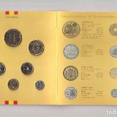 Monete FNMT: CARTERA OFICIAL NUMERADA DE LA FNMT MONEDAS DE CURSO LEGAL DE JUAN CARLOS I DE 1998. SIN CIRCULAR. Lote 152812150