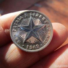 Monedas FNMT: CUBA . VEINTE CENTAVOS DE PLATA ANTIGUOS . 1949 . CALIDAD SIN CIRCULAR. Lote 156789085