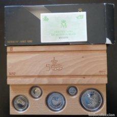 Monedas FNMT: SERIE 5 MONEDAS 100/200/500/1000/2000 PESETAS V CENTENARIO 1992 FDC. Lote 154371566
