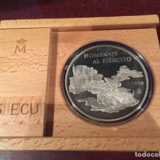 Monedas FNMT: HOMENAJE AL EJERCITO ESPAÑOL 25 ECUS 1998. Lote 156653482
