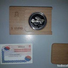 Monedas FNMT: AÑO 1997. 5 ECU PLATA NIEUPORT. Lote 156881202