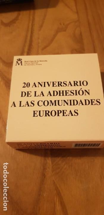 Monedas FNMT: 10 euros 2006 20 aniversario adhesion a las comunidades europeas - Foto 3 - 156870982
