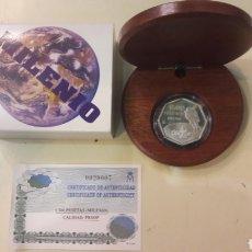 Monedas FNMT: MILENIO 1999 1.500 PEDRAS ASTRONAUTA F.M.N.T.. Lote 163034081