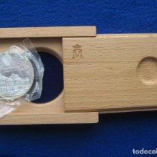 Monedas FNMT: MONEDA CONMEMORATIVA DE PLATA EN SU ESTUCHE MADERA DE LA FNMT. 2000 PESETAS. AÑO 1995. PALACIO REAL. Lote 164883322